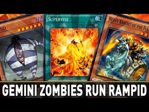 GEMINI ZOMBIES RUN RAMPID NOT RAMPANT   YuGiOh Duel Links PVP Mobile w/ ShadyPenguinn