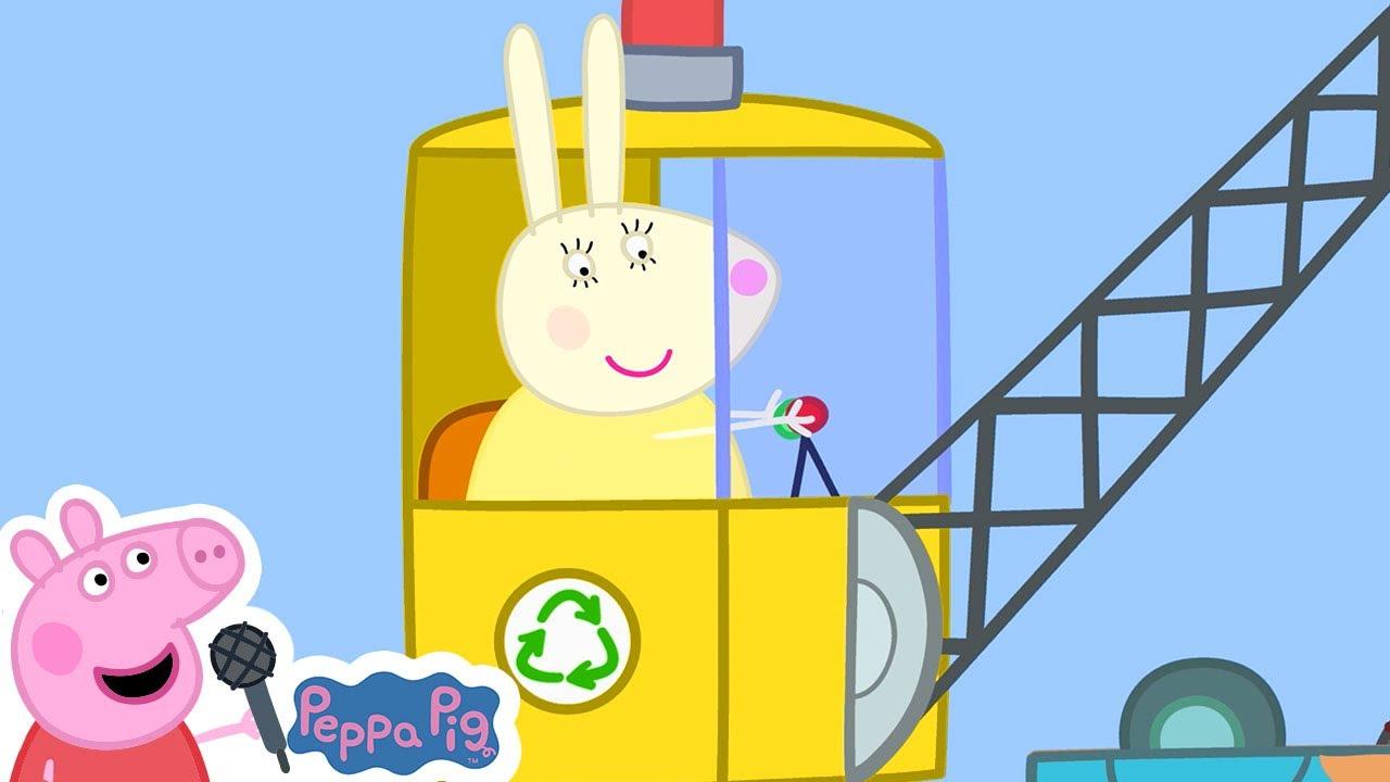 Peppa Pig   New   Recycling Song   Peppa Pig Songs   Peppa Pig Nursery Rhymes & Kids Songs