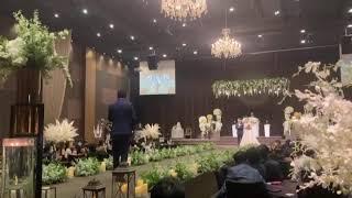 대전 아름다운 킹덤웨딩홀 / 결혼식축가 / 나무꾼(박구…