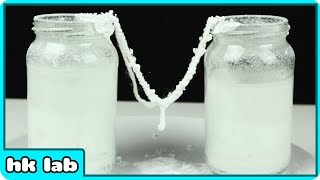 Amazing Trick to Grow Super Cool Edible Sugar Crystals At Home