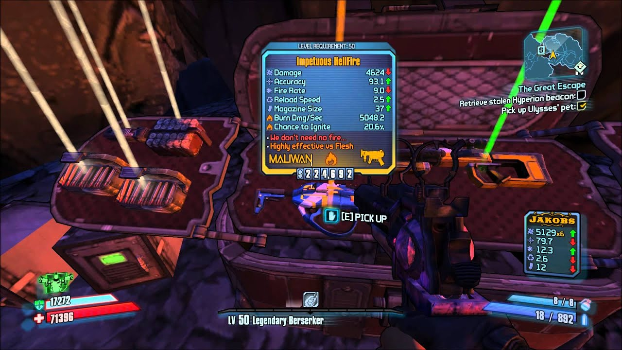 how to open the golden chest in borderlands 2
