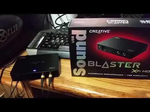 CREATIVE SOUND BLASTER X-FI HD SB1240