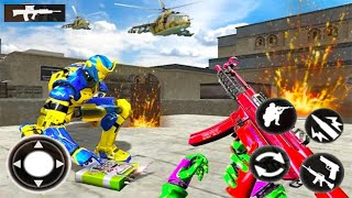 Counter Terrorist Strike: Robot Shooting Game - Android GamePlay - Shooting Games Android