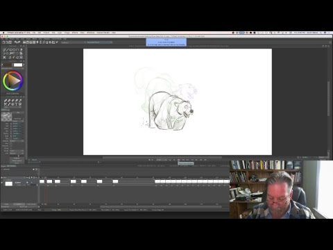 Live Stream - Live Animation SNOW BEAR