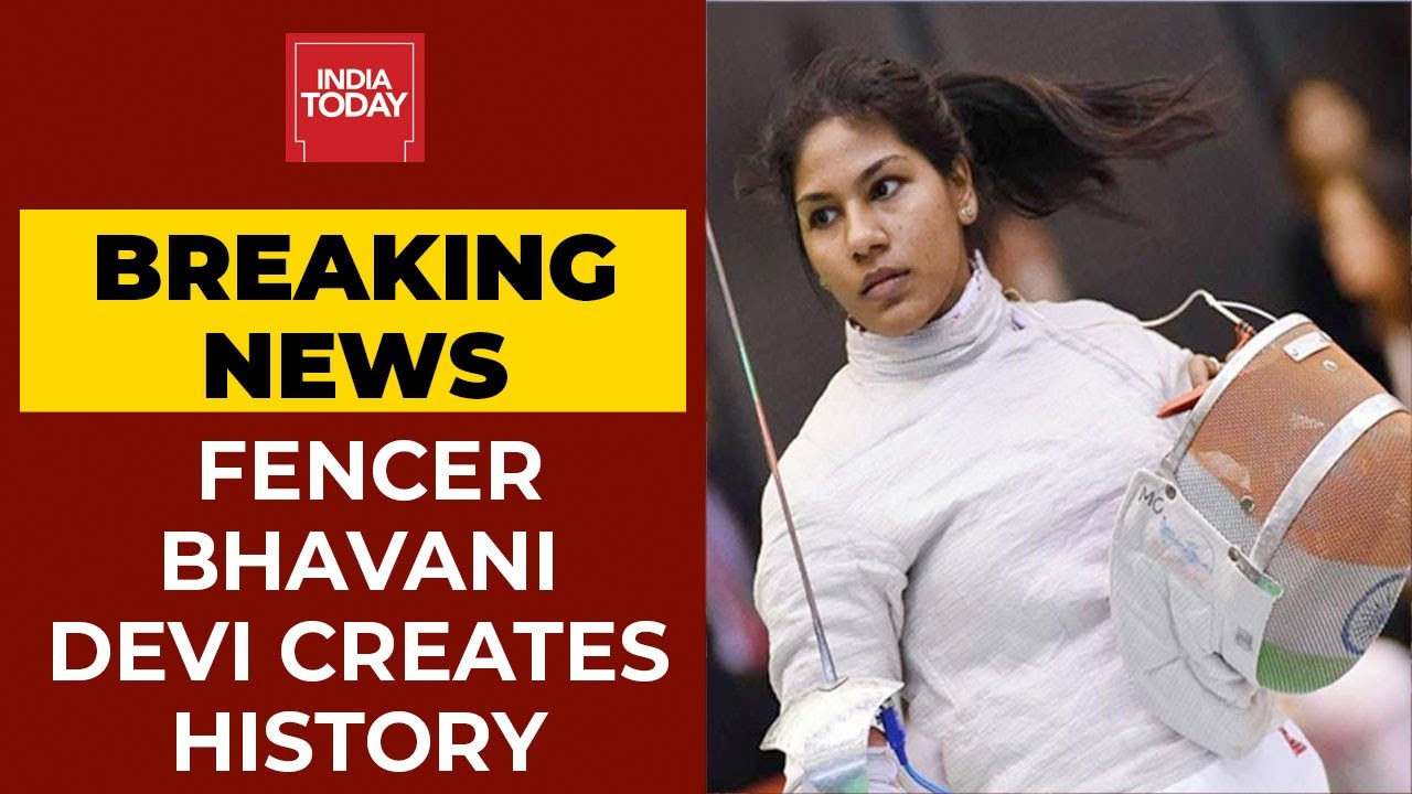 Download Tokyo 2020: Bhavani Devi Wins India's 1st Ever Fencing Match In Olympics | Breaking News