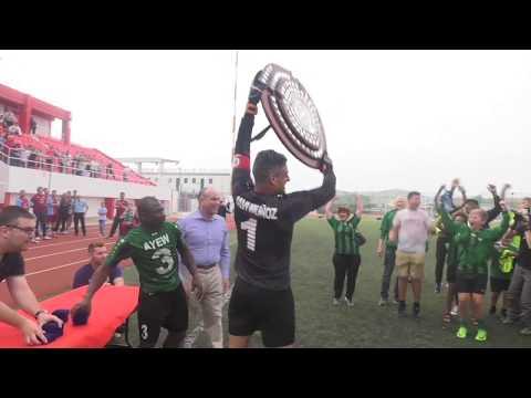GBC News - Europa FC title win -  22.05.17