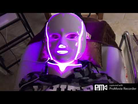 This led mask treatment. *Clear acne  *Spot  *Darkness  *Make ur face look bright and smooth . 28$
