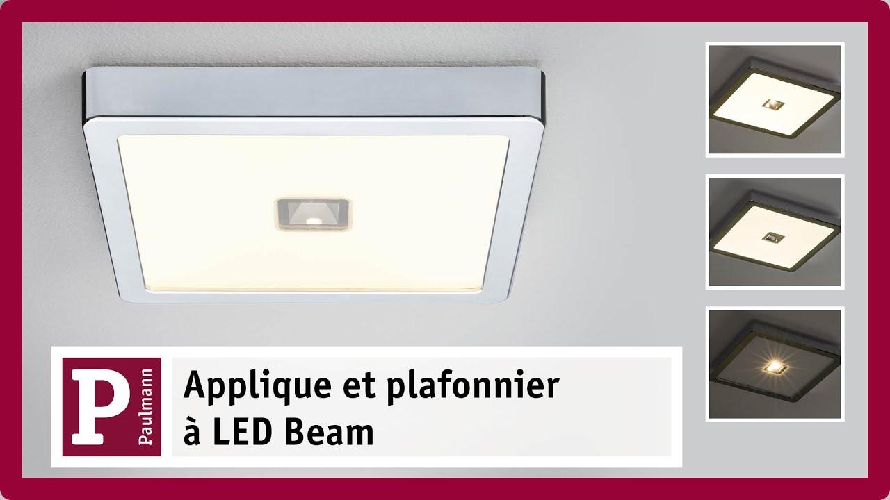 Panneau led beam triple ambiance lumineuse youtube - Panneau led video ...