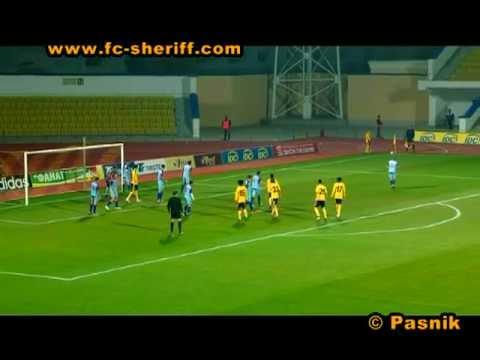Голы матча Шериф  5 - 0  Святой Георгий , 05-11-2011