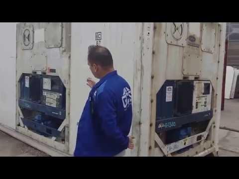 видео: carrier встраивание 3x дополнительных агрегатов в рефконтейнер от global container service