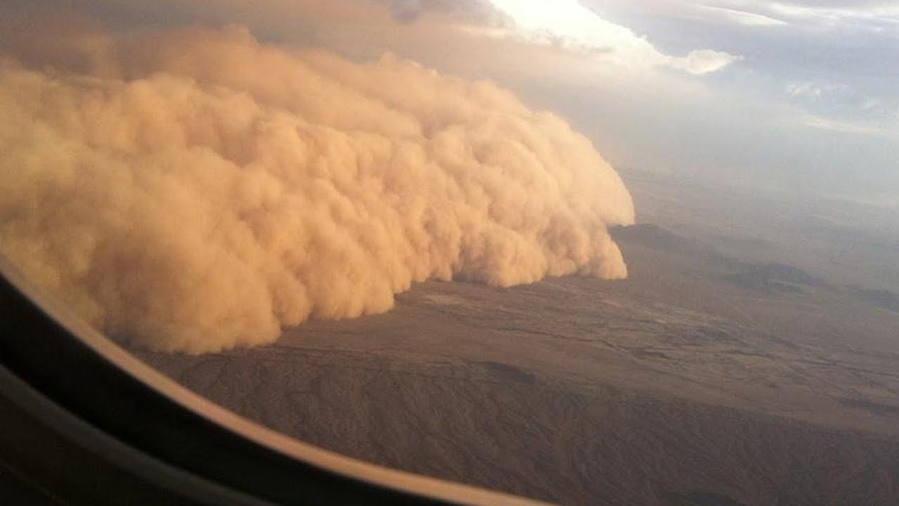 Пыльные бури в Казахстане, засуха в Кыргызстане. Погода в СНГ