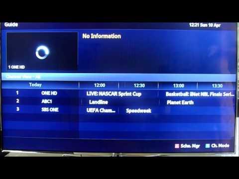 Samsung UA55D7000LM LED LCD Guide