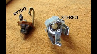 Jack Stereo em instrumento Mono - Pode isso Arnaldo?!