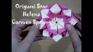 "Origami  CD/DVD Case ""Star Helena"" by Carmen Sprung (Not a Tutorial) Thumbnail"