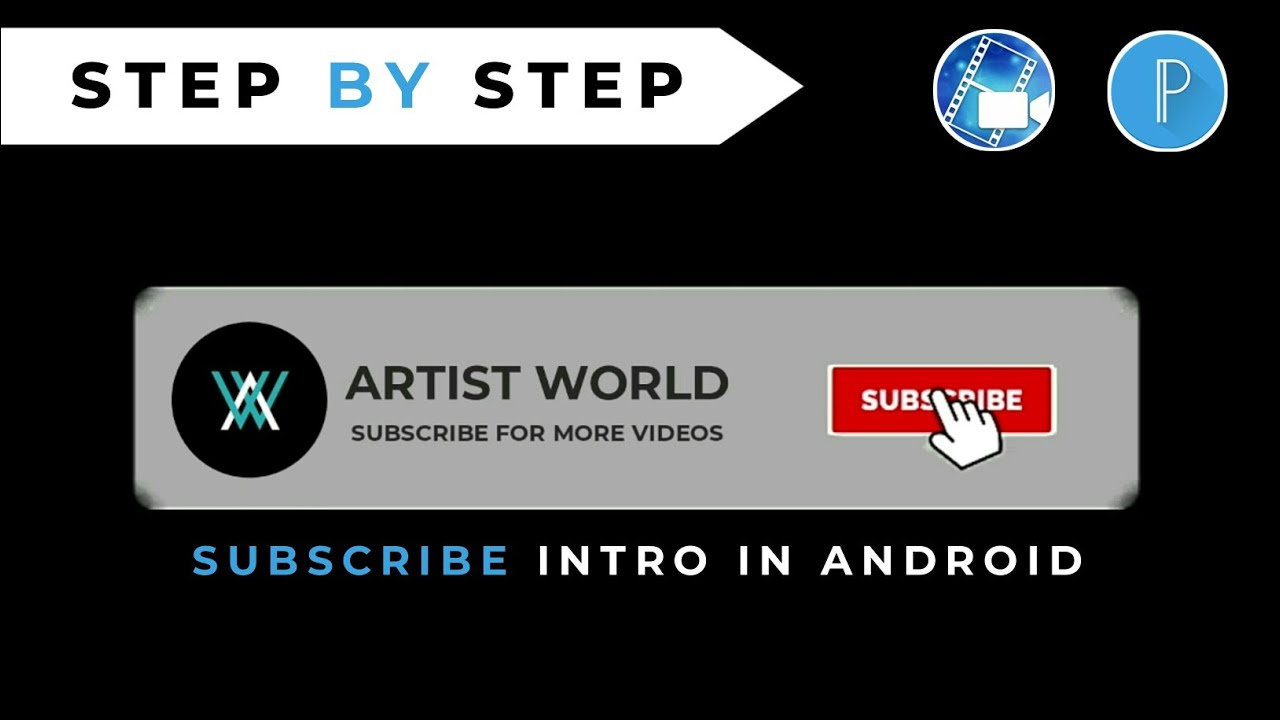 Download MAKE SUBSCRIBE AND BELL INTRO FOR YOUTUBE CHANNEL | CHANNEL INTRO IN ANDROID #intro #youtubechannel