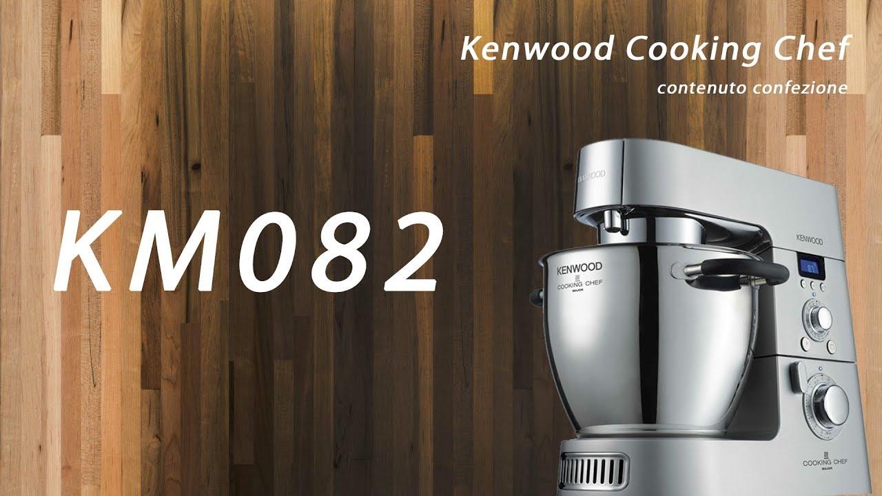 colori delicati Guantity limitata qualità superiore Video Kenwood Cooking Chef KM082 contenuto confezione
