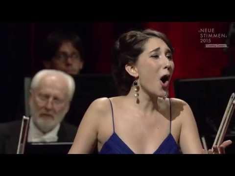 """NEUE STIMMEN 2015 - Semifinal: Miriam Albano sings """"Una voce poco fa"""", Il barbiere di Siviglia"""