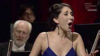 """NEUE STIMMEN semifinal 2015: Miriam Albano sings """"Una voce poco fa"""", Il barbiere di Siviglia"""