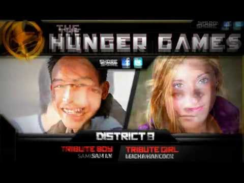 hunger games districts and tributes