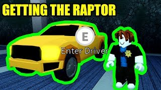GETTING the F-150 RAPTOR and LEVEL 50 COP in Roblox Jailbreak