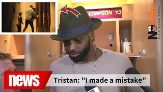 Tristan Thompson Breaks Silence! Apologizes After Caught Cheating On Khloe Kardashian. Baby True.