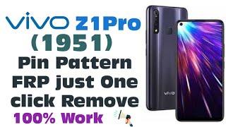 Vivo Z1 Pro Pattern Unlock