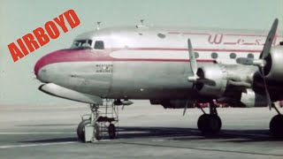 Western Airlines DC-4 NC88701 (1946)