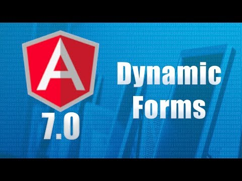 Angular 2 (Angular 4) - Dynamic Forms