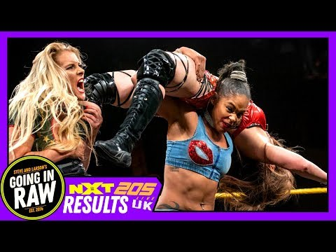 Who Gets Shayna At NXT Takeover? WWE NXT, UK & 205 Full Results & Review | Going In Raw Podcast