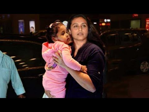 Rani Mukerji SPOTTED with Her Cute Daughter Adira