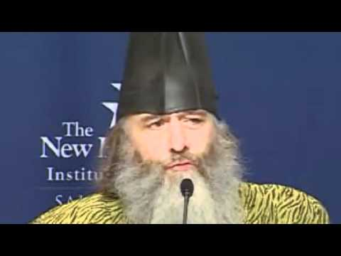 Vermin Supreme - When Im President Everyone Gets A Free Pony (wizard with boot on head)