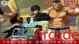 The King Of Fighters XIII Arcade - Japan Team