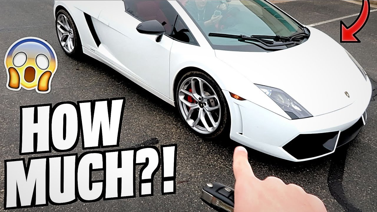 Here S How Much It Cost To Fix My Broken Lamborghini Not