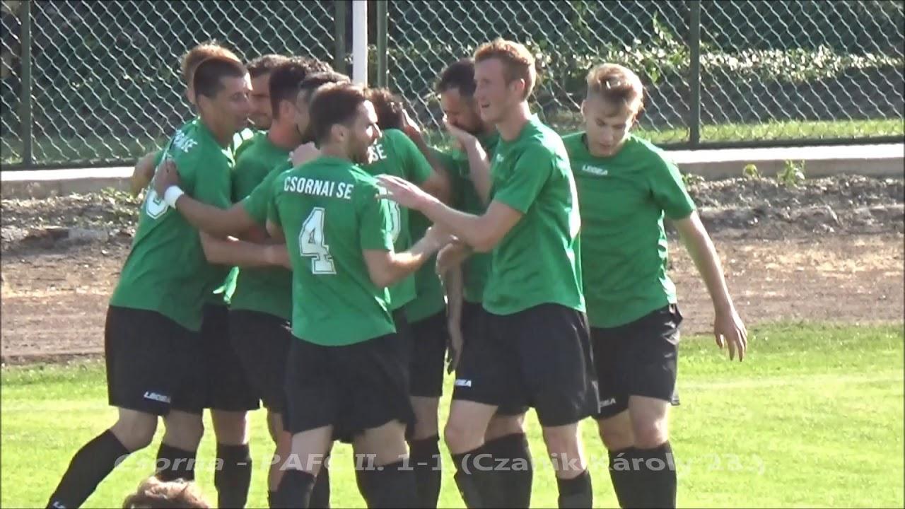 Csornai SE - Puskás Akadémia FC II. 1-1