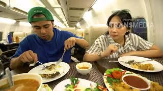 JANJI SUCI - Makan Makanan Enak Di Pesawat (26/8/18) Part 3