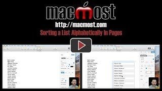 Sorting a List Alphabetically In Pages (#1569)