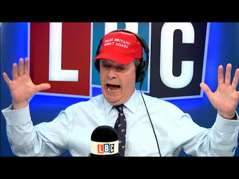 The Nigel Farage Show: Do we need more Police on the beat? LBC - 9th April 2018