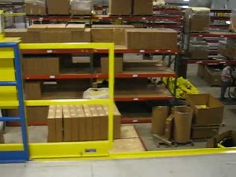 Horizontal Sliding Mezzanine Gate Ps Doors Youtube