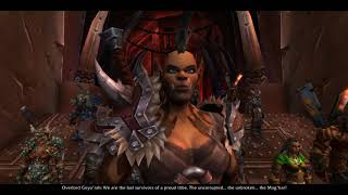 Mag'har Orc Intro - World of Warcraft: Battle for Azeroth