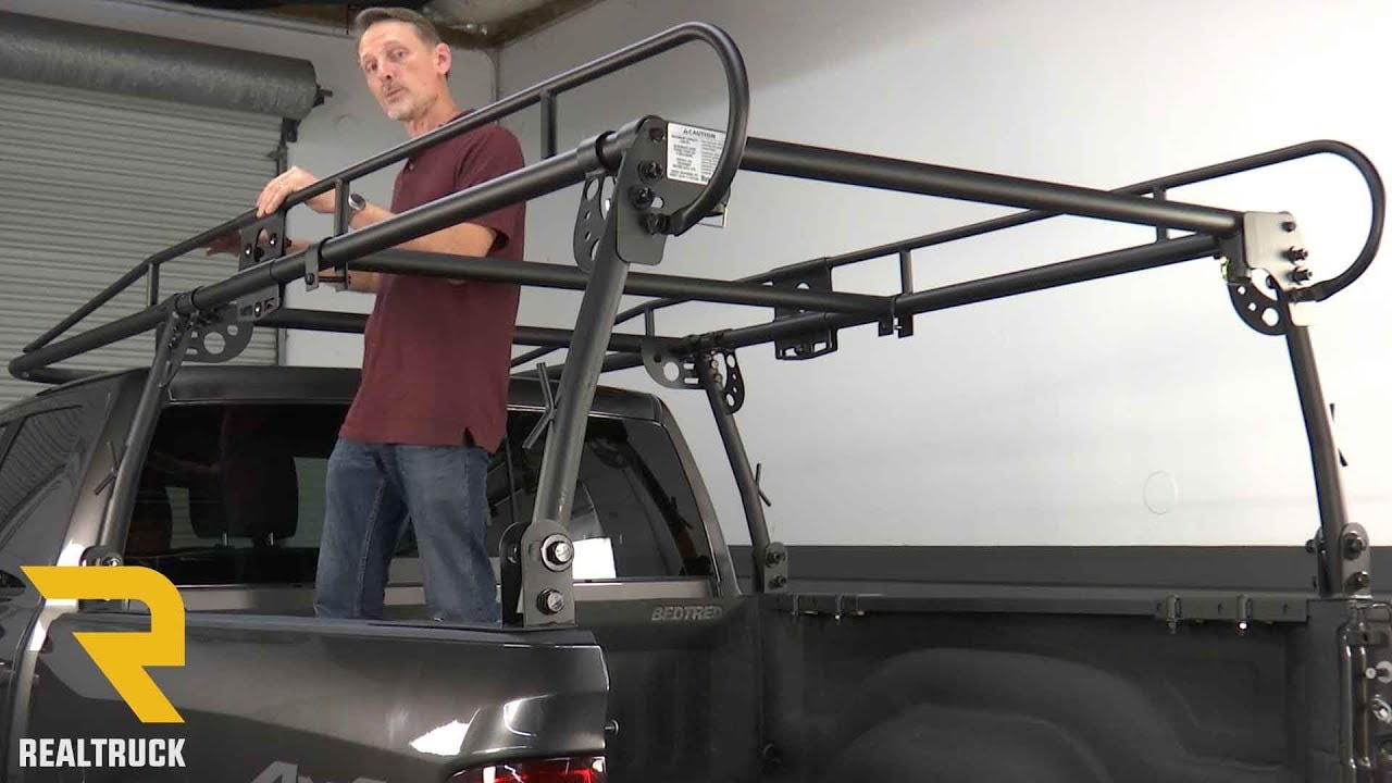 How To Install Buyers Truck Rack Youtube