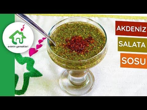 Akdeniz Salata Sosu - Evde Akdeniz Salata Sosu Nasıl Yapılır - Sos Tarifleri