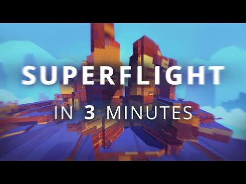 Superflight Launch Trailer - Wingsuit Highscore Game