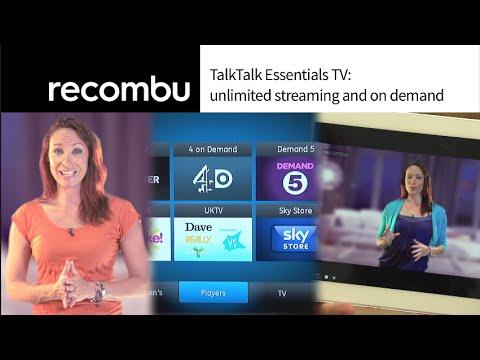 TalkTalk Essentials TV: unlimited streaming and on demand