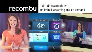 TalkTalk Essentials TV: unlimited streaming and on demand