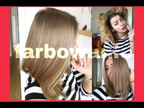 FARBOWANIE włosów w domu ❤ chłodny popielaty blond  ❤ tonowanie ombre ochładzanie włosówThePinkRook
