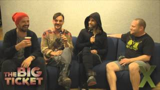 X102.9 Presents: 30 Seconds to Mars Backstage Interview - The Big Ticket 2013
