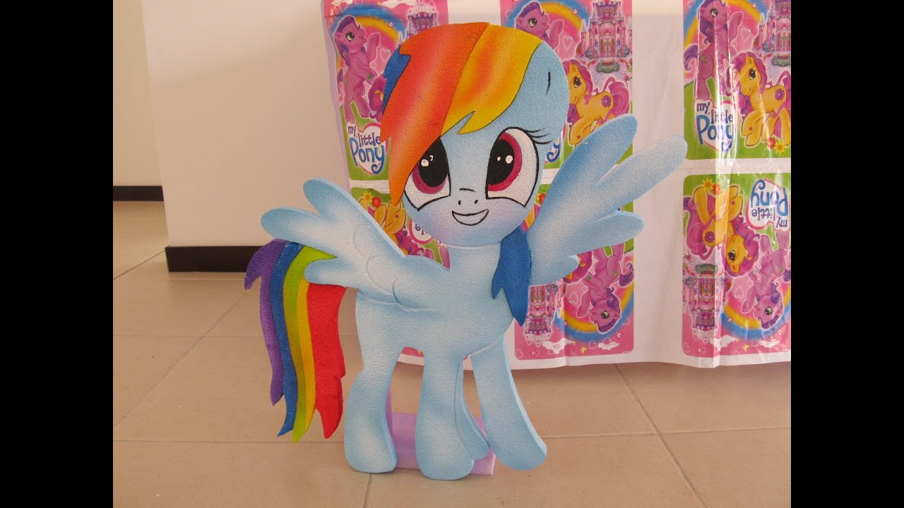 DECORACION FIESTA TEMATICA MY LITTLE PONY FIESTAS INFANTILES - YouTube