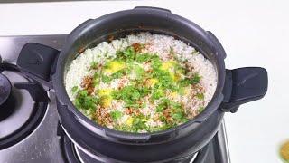 कुकर में झटपट मशरुम बिरयानी | Mushroom Biryani | Veg Biryani In cooker | KabitasKitchen