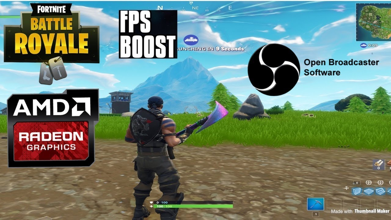 Amd Fortnite Stretched Resolution Tutorial Black Bars Fix