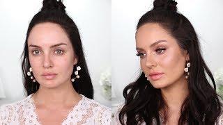 Summer Makeup Transformation! Flirty Peaches & Pinks \\ Chloe Morello